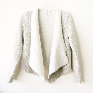 BB Dakota Collective | Shenan Drape Knit Jacket